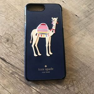 Kate spade camel phone cover iPhone 7/8 plus